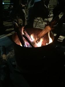 40. Bon fire