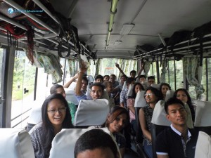 1. Leaving on deerwalk bus