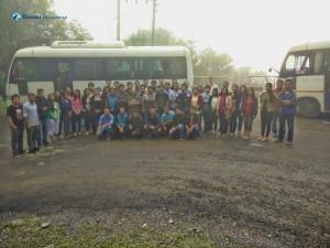 32. Group photo bidding farewell to Daman
