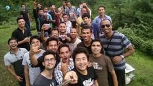 6. Picnic Selfie