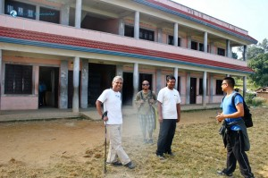 21. @ Bhojkumari High School in Kewalpur