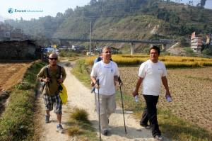7. the hiking team