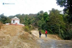 2. Hiking begins