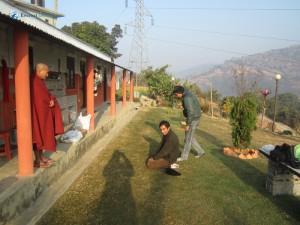 24. Bhanteji being felicitated