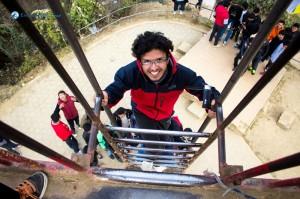 37. The climber