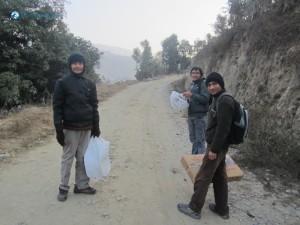5. Eager Team MovesTowards Bhikkhu Sadhana Sthal