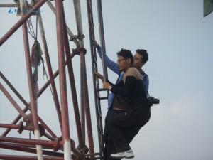 57. Tower climb