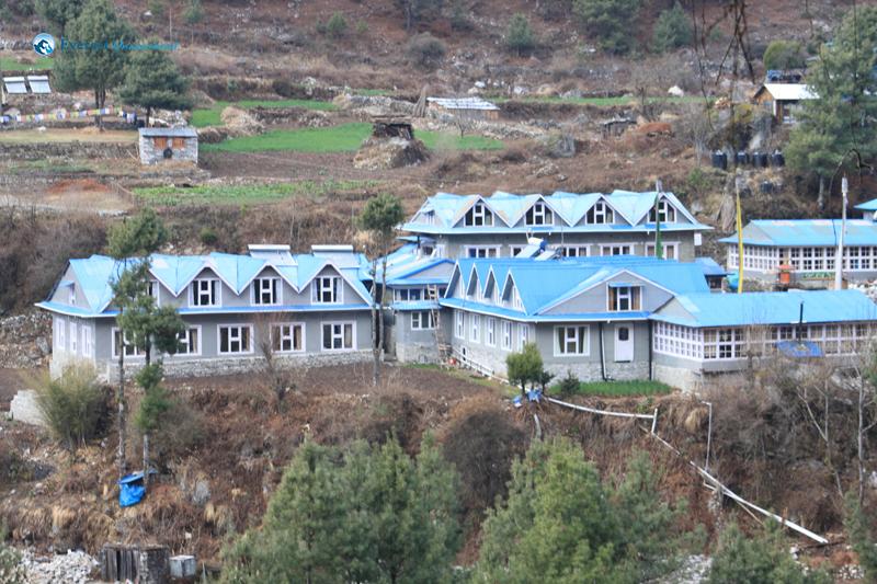 11. Hotel at Phakding