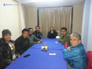 3. Team Dinner at Charikot