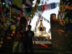 18. Stupa deep in the jungle