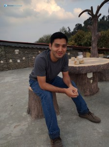 23. Smiley pose of Romit dai