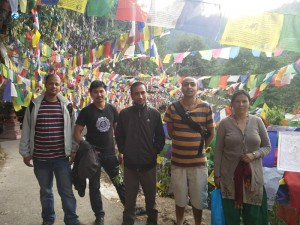 26. The team at Risheswore Temple, Daman