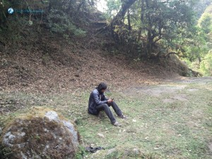 6. Gautam Acharya In Lap of Nature