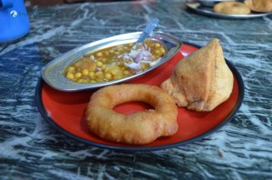 5. East or West Samosa Tarkari Best