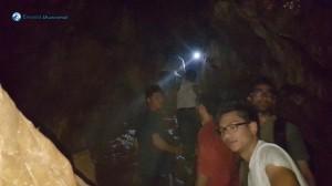 12.Exploring cave