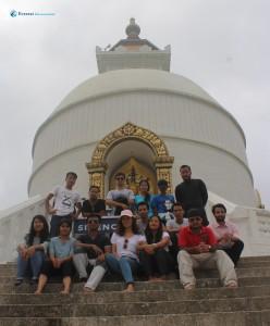 9. Stupa with Squad C