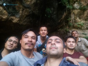 9. Cave selfie