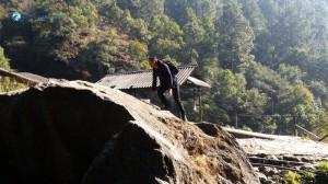 10. Brave hiker