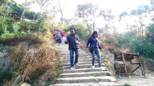 7. Stone Stairs