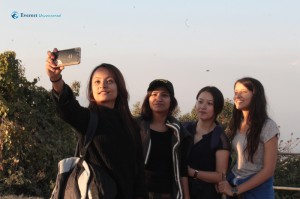 24. No hike is complete without selfie