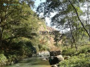 33. over the bridge