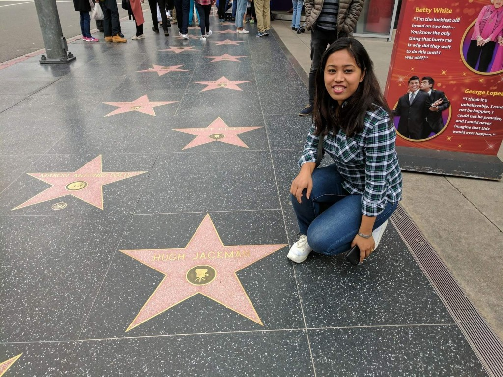 Found Mr. Wolverine, Hollywood Walk of fame, Los Angeles