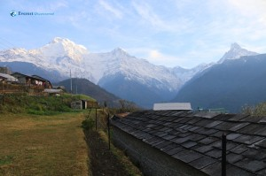 13. Early morning view from Ghandruk