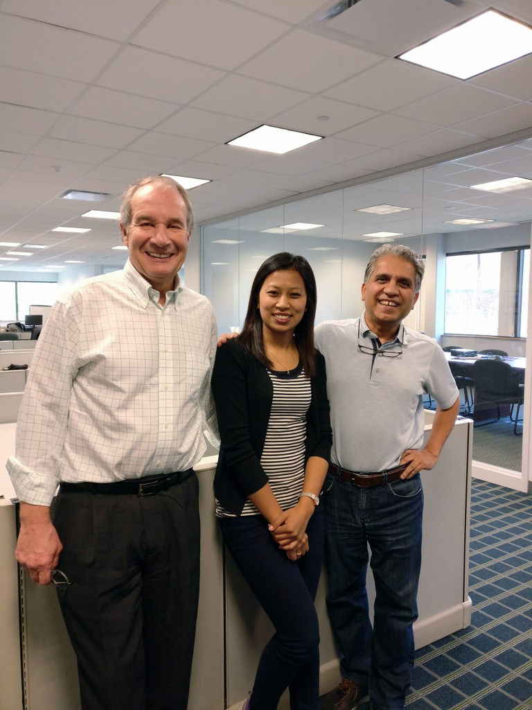 With Rudra Pandey and Dave Hansen