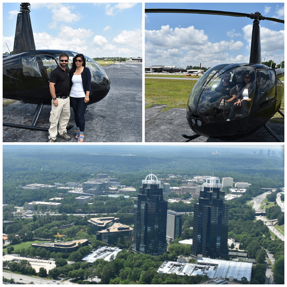 King & Queen Towers Helicopter Tour - Atlanta