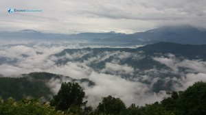 28. Above clouds