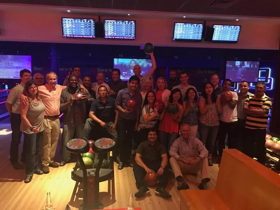 Deerwalk Bowling team at Boston