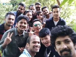49. Selfie in the jungle