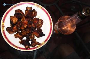 32. Sekuwa With Coconut Feni Juice
