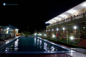 33. Swimming Pool At Night