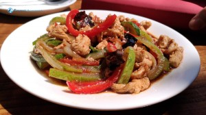 4. Spicy Cold Chicken Sesame