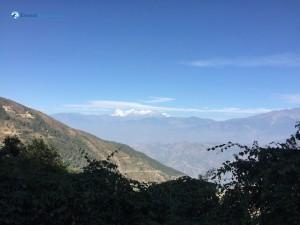2. Glimpse of mountain