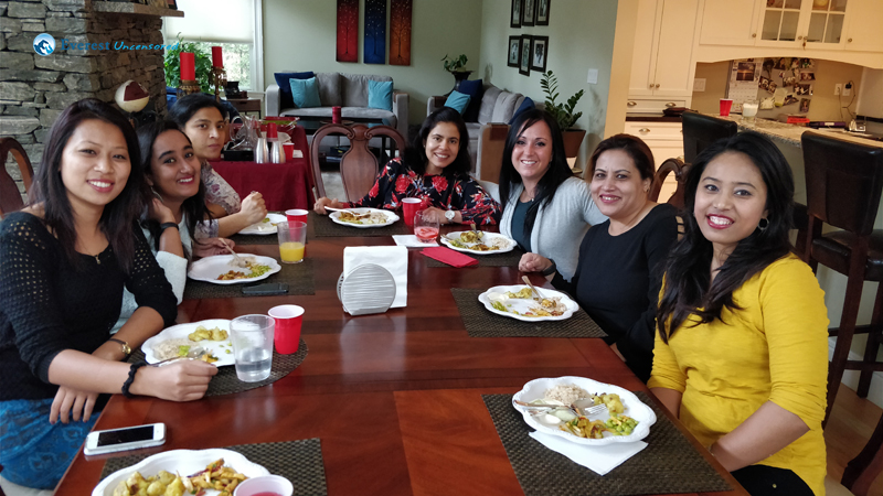 Girls Day Out at Muna Bhauju's Place