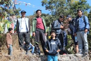 17. Rest after a long climb