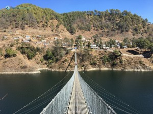 22. Markhu Hanging Bridge