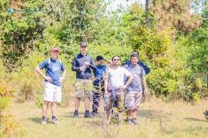 16. Group pose
