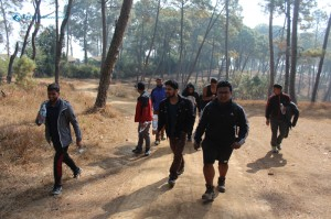 4. Let the hike begin