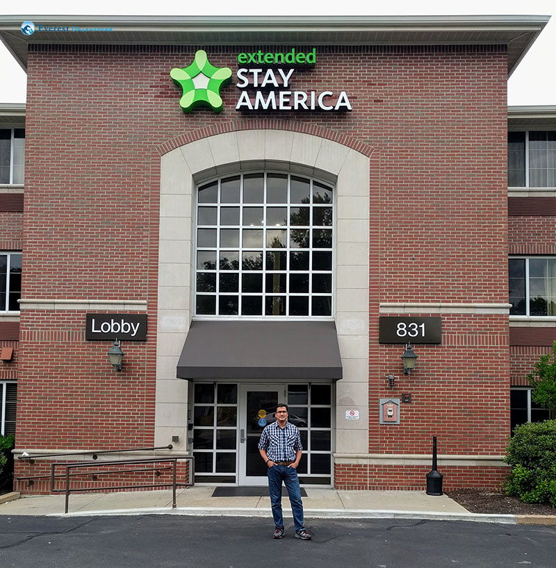 2. Extended Stay America - our home for a month