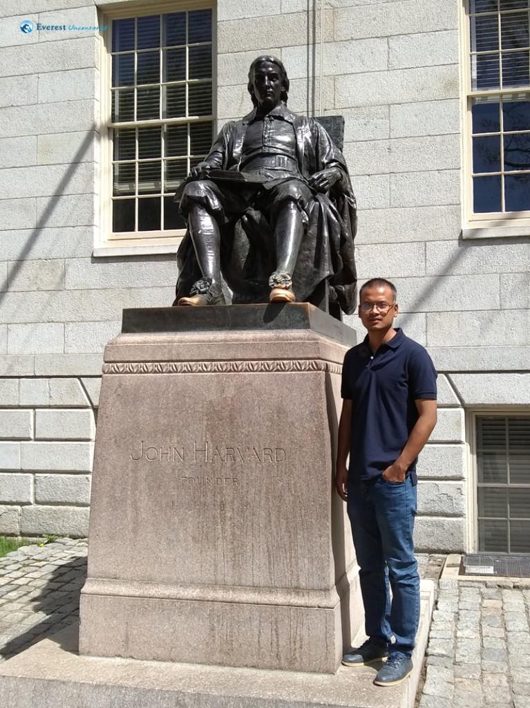 With John Harvard