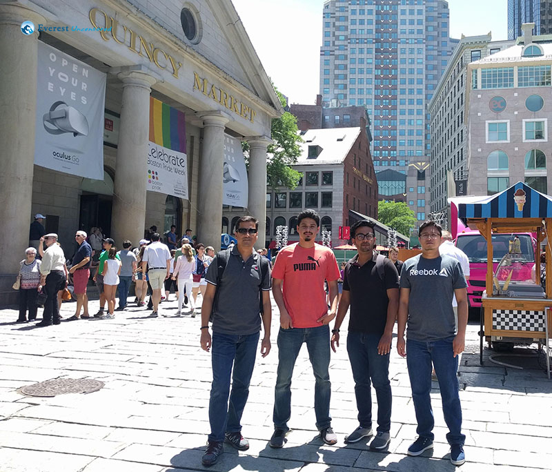 4. Quincy Market, MA