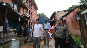 3. Walking towards the ChanguNarayan temple