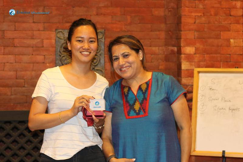 32. Sanshila gets the Third prize