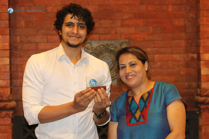33. Sushant gets the Second prize