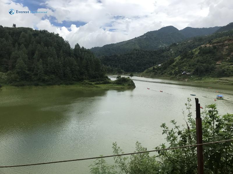 10. Scene of dam
