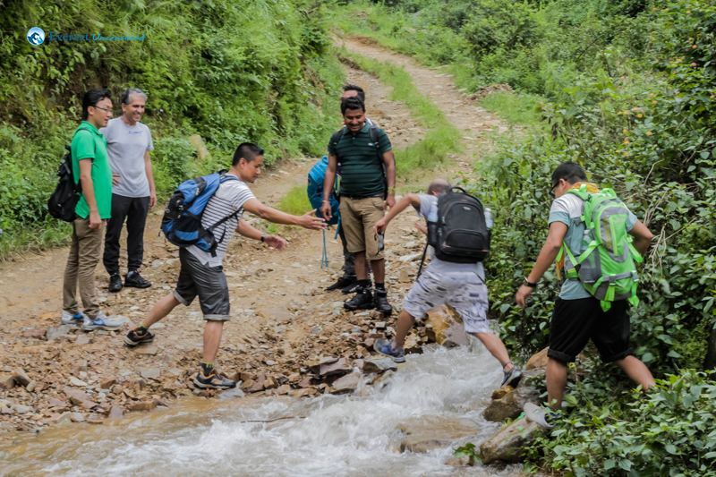17. This is the way to cross the river