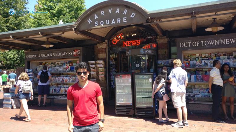 At the Harvard Square
